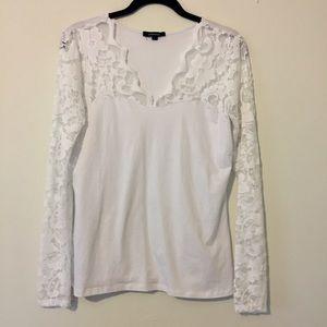 Ambiance white shirt